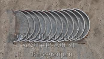 Комплект вкладышей шатунных Yuchai YC6108G