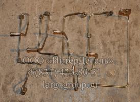комплект топливных трубок ВД
